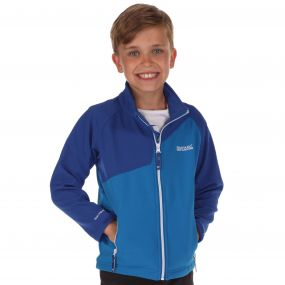 Vargo Softshell Jacket Blue   Surfspray