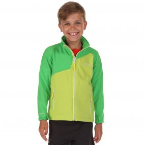 Vargo Softshell Jacket Lime Zest   Green