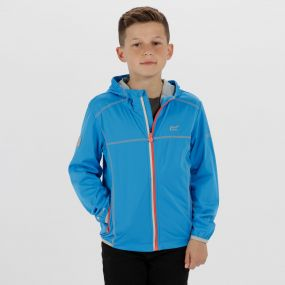 Kids Vortec Lightweight Softshell Jacket Pluto Light Steel