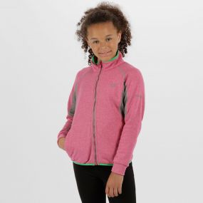 Kids Limit II Knitted Stretch Softshell Jacket Jem Marl Rock Grey