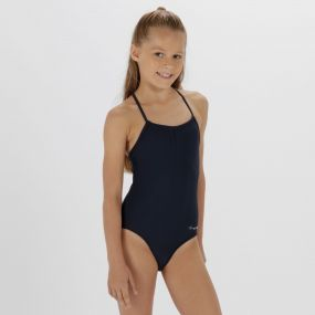 Kids Takisha Swimming Costume Navy