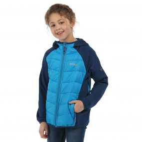 Kielder Hybrid Jacket Methyl Blue