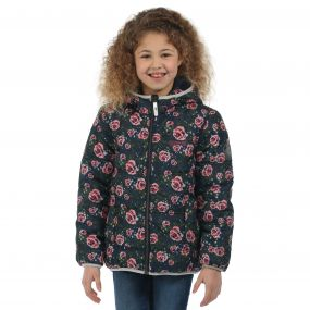 Coulby Jacket Navy Floral