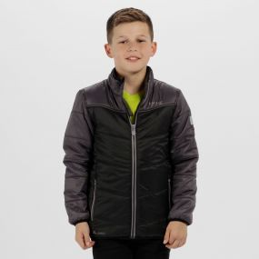 Kids Icebound III Insulated Jacket Black Iron