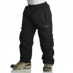 Kids Padded Chandler Breathable Waterproof Overtrousers Black