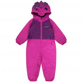 Kids Mudplay II Breathable Waterproof Unicorn Puddle Suit Extreme Pink Winberry