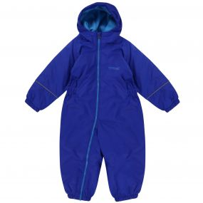 Kids Splosh III Plain Breathable Waterproof Puddle Suit Surfspray Blue