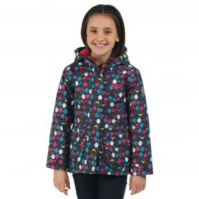 Girls Bouncy II Jacket Navy