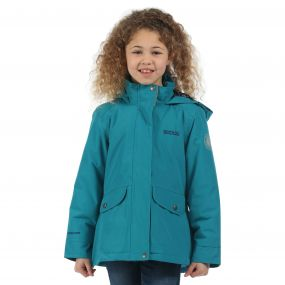 Girls Spinney Jacket Enamel