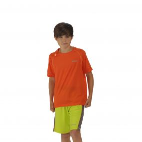 Diverge II T-shirt Magma Orange