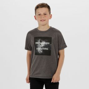 Kids Alvarado III  Quick Dry T-Shirt Seal Grey
