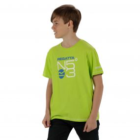 Bosley Coolweave Cotton T-Shirt Lime Zest