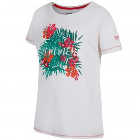 Bosley Coolweave Cotton T-Shirt White