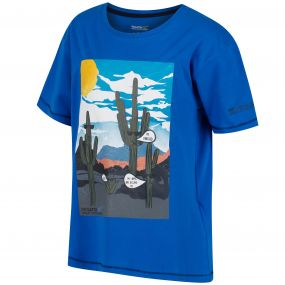 Bosley Coolweave Cotton T-Shirt SkyDiver Blue