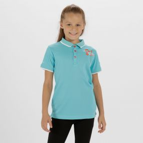 Kids Talor Quick Dry Polo Shirt Horizon