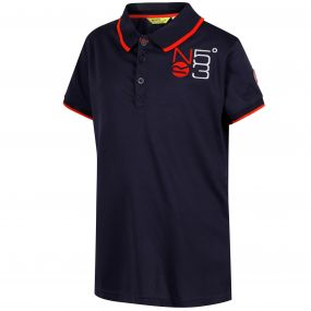 Talor Quick Dry Polo Shirt Navy