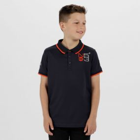 Kids Talor Quick Dry Polo Shirt Navy
