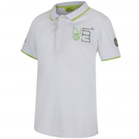 Talor Quick Dry Polo Shirt White