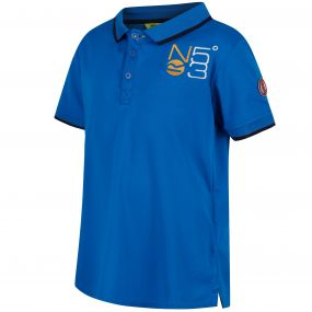 Talor Quick Dry Polo Shirt SkyDiver Blue