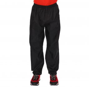 Kids Pack It Overtrousers Black