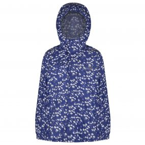 Kids Printed Pack-It Jacket Clematis