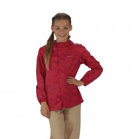 Kids Printed Pack-It Jacket Duchess