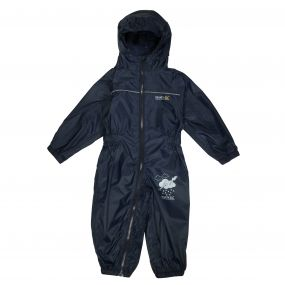 Kids Puddle IV Breathable Waterproof Puddle Suit Navy