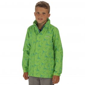 Printed Overchill Jacket Green Flash