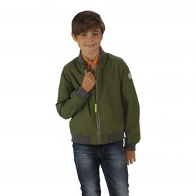 Boys Witton Jacket Cypress Green