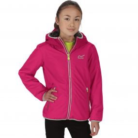 Kids Volcanics Waterproof Reflective Hooded Jacket Duchess