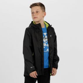 Kids Allcrest III Waterproof Hooded Jacket Black