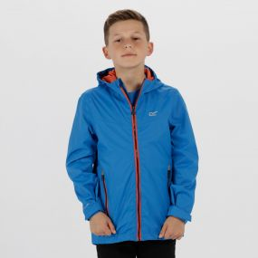 Kids Allcrest III Waterproof Hooded Jacket Skydiver Blue