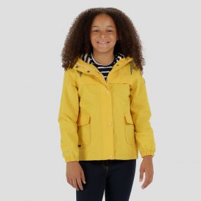 Kids Betulia Waterproof Jacket Lifeguard Yellow