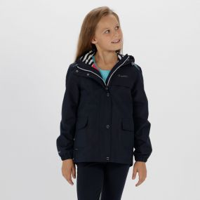 Kids Betulia Waterproof Jacket Navy