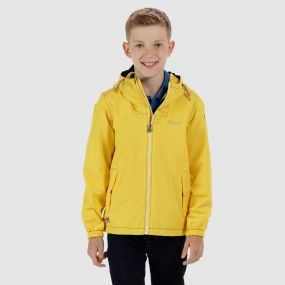 Kids Henryson Waterproof Jacket Lifeguard Yellow