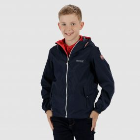 Kids Henryson Waterproof Jacket Navy