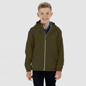 Kids Henryson Waterproof Jacket Ivy Green