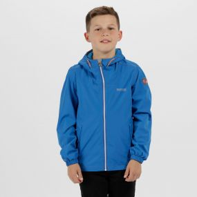 Kids Henryson Waterproof Jacket Skydiver Blue