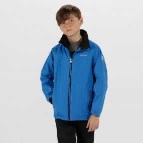 Kids Gabiel Waterproof Hooded Jacket Skydiver Blue