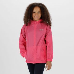 Kids Pack it Jacket III Waterproof Packaway Hot Pink