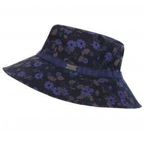 Paulo Hat Navy Floral