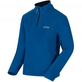 Thompson Half Zip Lightweight Fleece Oxford Blue Navy