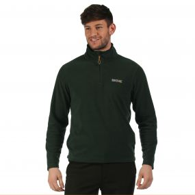 Thompson Half Zip Lightweight Fleece Darkest Spruce