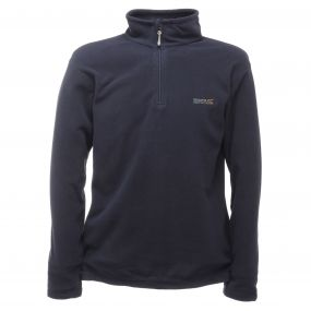 Thompson Half Zip Lightweight Fleece Navy