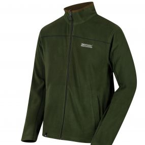 Fairview Mid Weight Full Zip Fleece Racing Green