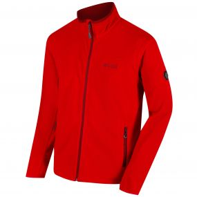 Stanton II Mid Weight Full Zip Fleece Pepper Delhi Red