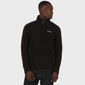 Hedman II Heavyweight Full Zip Fleece Black
