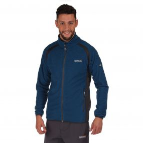 Mons Fleece Imperial Blue Grey