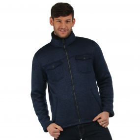 Pikes Fleece Navy Black