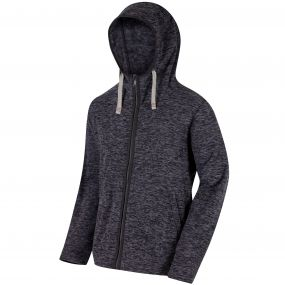 Laikin Hooded Full Zip Fleece Ash